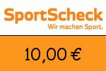 Sportscheck.at 10,00 Euro Gutschein
