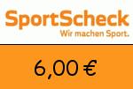 Sportscheck.at 6,00 Euro Gutschein