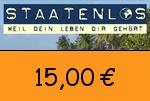 Staatenlos 15 Euro Gutscheincode