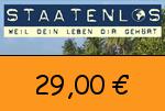 Staatenlos 29,00 Euro Gutschein