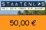 Staatenlos 50,00 € Gutschein