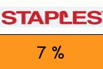 Staples 7 Prozent Gutscheincode