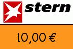 Stern 10,00 Euro Gutscheincode
