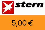 Stern 5,00€ Gutscheincode