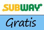 Gratis-Artikel bei Subway