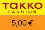 Takko 5,00€ Gutschein