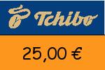 Tchibo 25,00 Euro Gutschein