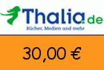 Thalia 30,00€ Gutschein