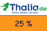Thalia 25 Prozent Gutschein