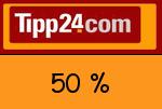 Tipp24 50 % Gutschein