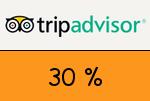 Tripadvisor 30% Gutschein