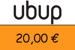 Ubup 20 € Gutscheincode