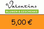 Valentins 5,00€ Gutscheincode