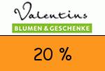 Valentins 20 Prozent Gutschein