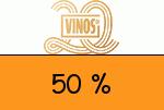 Vinos 50 % Gutschein