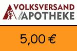 Volksversand-Versandapotheke 5,00€ Gutscheincode