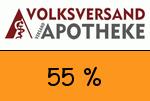 Volksversand-Versandapotheke 55 Prozent Gutschein