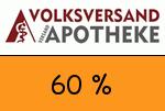 Volksversand-Versandapotheke 60% Gutschein