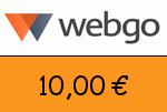 webgo 10,00 Euro Gutscheincode