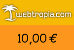 Webtropia 10,00 Euro Gutscheincode