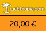 Webtropia 20 € Gutscheincode