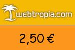Webtropia 2,50 Euro Gutscheincode