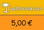 Webtropia 5,00€ Gutscheincode