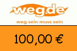weg.de 100 Euro Gutscheincode