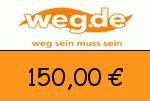 weg.de 150,00 Euro Gutscheincode