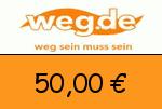 weg.de 50,00 € Gutscheincode