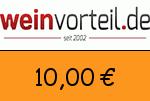 Weinvorteil 10,00 Euro Gutschein