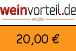 Weinvorteil 20 € Gutscheincode