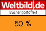 Weltbild 50 % Gutschein