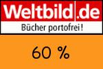 Weltbild 60% Gutschein