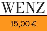 Wenz 15 Euro Gutscheincode