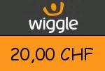 Wiggle.ch 20,00 CHF Gutscheincode