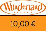 Wunderland-Kalkar 10,00 Euro Gutschein