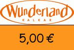 Wunderland-Kalkar 5,00€ Gutschein