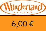 Wunderland-Kalkar 6,00 Euro Gutschein