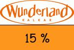 Wunderland-Kalkar 15 % Gutschein