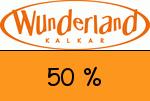 Wunderland-Kalkar 50 % Gutschein