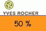 Yves-Rocher 50 % Gutschein