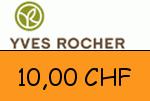 Yves-Rocher.ch 10,00 CHF Gutscheincode