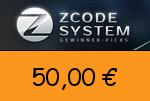 Zcodesystem 50,00 € Gutscheincode