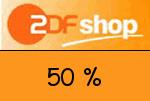 ZDF-shop 50 % Gutschein