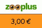 Zooplus 3,00 Euro Gutscheincode