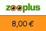 Zooplus 8,00 Euro Gutscheincode