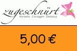 Zugeschnuert-shop 5,00€ Gutscheincode