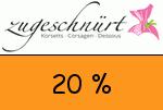 Zugeschnuert-shop 20 Prozent Gutscheincode