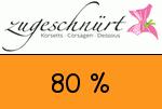 Zugeschnuert-shop 80 Prozent Gutschein